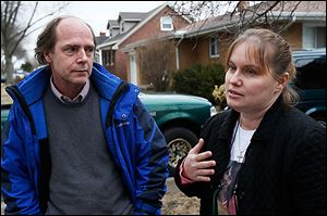 CTY gerber26p  Jeff and Jeni Gerber talk about the shooting death of their daughter, Kaitlin, on Tuesday, March 26, 2013.   Kaitlin was shot to death by former boyfriend Jashua Perz on Sunday. THE BLADE/DAVE ZAPOTOSKY