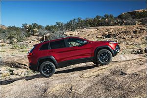The 2014 Jeep Cherokee, to be built in Toledo, is to be unveiled with much fanfare at the New York International Auto Show today.