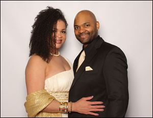Christi Lewis and husband Marcus Lewis.