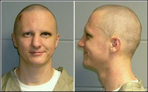 FILE - This is a combo of photos of Jared Loughner released Tuesday, Feb. 22, 2011, by the U.S. Marshal's Service. Loughner pleaded guilty in the Tucson, Ariz., shooting rampage that killed six people and left several others wounded, including then-U.S. Rep. Gabrielle Giffords. Hundreds of pages of police reports in the investigation of the shooting were released Wednesday, March 27, 2013 marking the public's first glimpse into documents that authorities have kept private since the attack on Jan. 8, 2011.