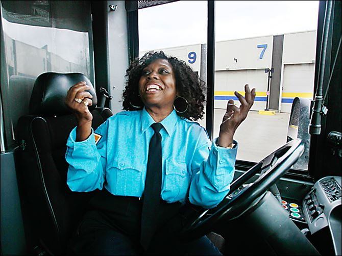 TARTA rescue Geraldine Mitchell TARTA driver Geraldine Mitchell says that when she saw a woman hanging from a porch earlier this month, she stopped her bus and, with the help of passengers,  went to the woman's aid.