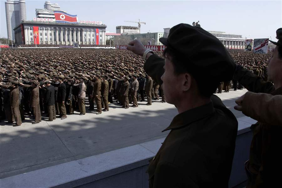 North-Korea-Rally