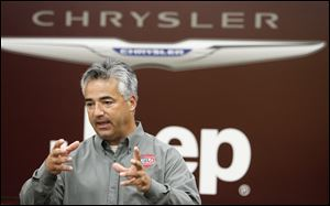 Zach Leroux, plant manager of the Chrysler Toledo North Assembly Plant says hiring for the second shift, which will start work in the year's third quarter, is