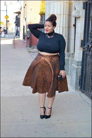 Style websites run by voluptuous fashionistas such as Gabi Gregg of plus-size blog Gabifresh.com suggest that thin is no longer the only size that's in.