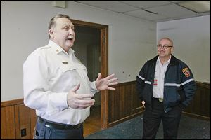 Chief Jeff Kowalski and Deputy Chief Michael Ramm talk about Sylvania Township's Fire Station No.1. Demolition is to start Wednesday, with a replacement due to  open in November. Firefighters remember all the improvements they made. The discussions after bad runs. And then there's the ghost.