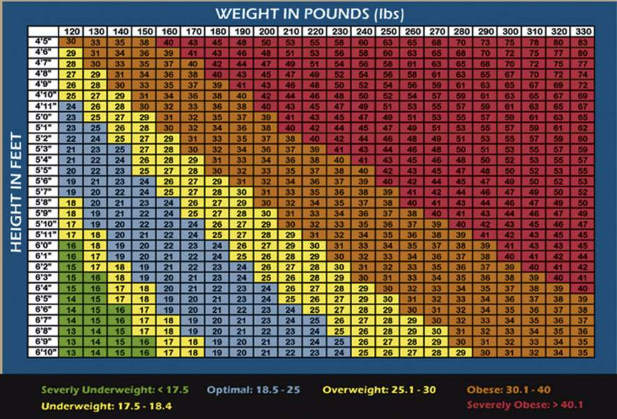 Doctors Bmi Charts Are Just A Rule Of Thumb The Blade