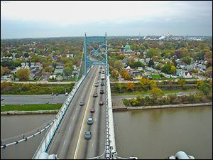 Overhauling the Anthony Wayne Bridge's deck and replacing both approach spans is expected to shut the bridge for 19 months. Work is slated to start this year. Bid opening is expected sometime early this month.