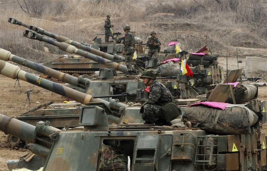 South-Korea-Koreas-Tension-howitzer
