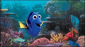 The character Dory, voiced by Ellen DeGeneres, was first introduced in