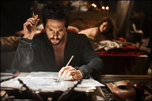Tom Riley as Leonardo Da Vinci in a scene from