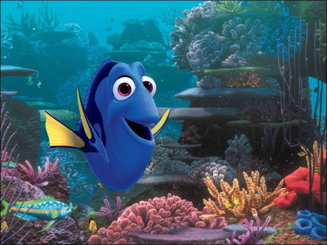 Film-Finding Nemo Sequel Dory The character Dory, voiced by Ellen DeGeneres, was first introduced in