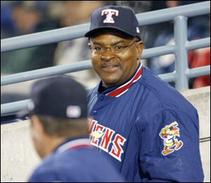 Mud Hens hitting coach Leon Durham has served in that role for 13 seasons, longer than any other International League coach.