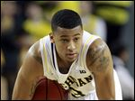Michigan guard Trey Burke, the sophomore point guard who led Michigan to the Final Four, was selected Thursday as The Associated Press' college basketball player of the year.