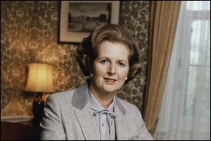 British Prime Minister Margaret Thatcher, known to friends and foes as the 'Iron Lady,' died early today.