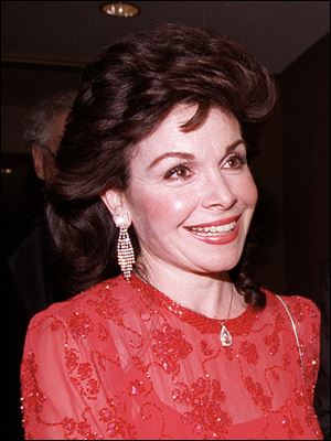 Actress and former Mickey Mouse Club member Annette Funicello arrives for the 15th annual Italian American Foundation dinner in Washington, D.C. in 1990.