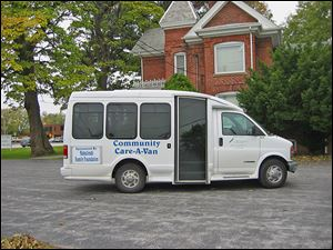 Care-A-Van takes people to medical appointments in Oregon, East Toledo, Northwood, Walbridge, and Lake Township.