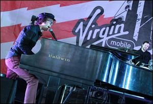 Ben Folds of Ben Folds Five performs at the 2012 Virgin Mobile FreeFest in Maryland last October.