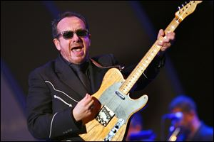 Elvis Costello was critical of Margaret Thatcher's government in the 1980's  in the song