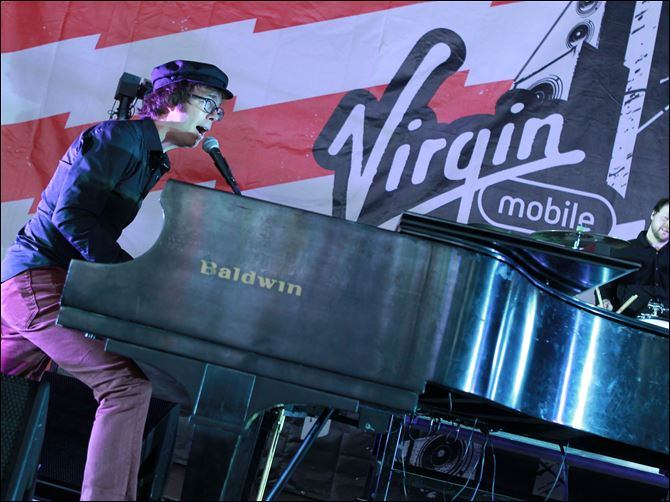 Virgin Mobile FreeFest 2012 Ben Folds of Ben Folds Five performs at the 2012 Virgin Mobile FreeFest in Maryland last October.
