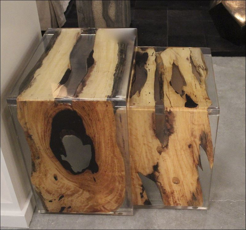 Wood And Resin Nesting Tables Archives Amazing Space NYC Home