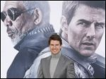 Tom Cruise arrives at the LA premiere of