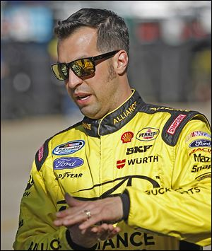 Sam Hornish, Jr.,lost his Sprint Cup ride to Joey Logano but is succeeding in the Nationwide Series.