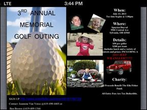 Ella Fisher 3rd Annual Golf Outing