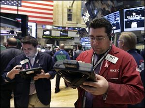 Strong economic reports boosts stocks.