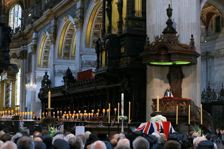 Britain-Thatcher-Funeral-bishop-of-london