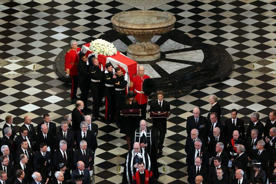 Britain-Thatcher-Funeral-into-st-pauls