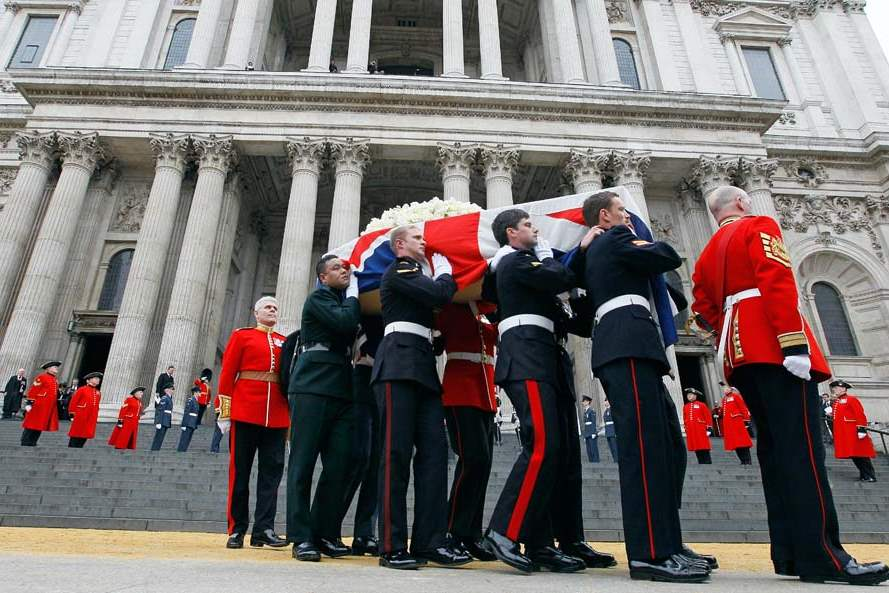 Britain-Thatcher-Funeral-pall-bearers-out