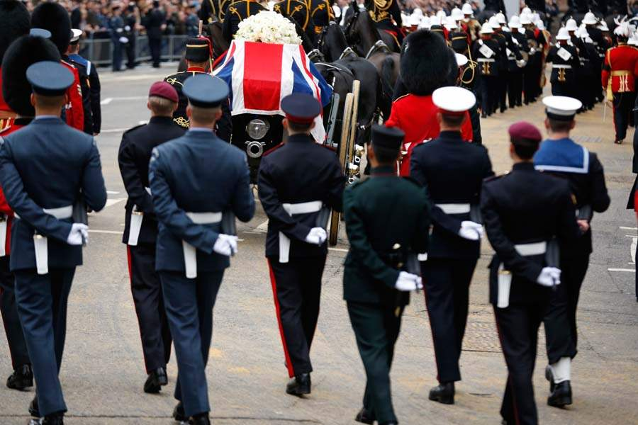 Britain-Thatcher-Funeral-royal-artillery