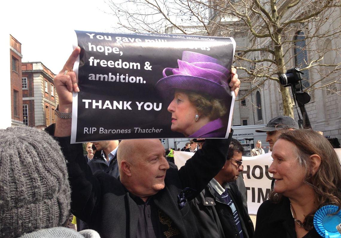Britain S Former Prime Minister Margaret Thatcher Memorialized The Blade