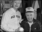 Shirley and Lowell Hinkle have more than 2,200 autographed baseballs that are part of their vast collection related to America's pastime.