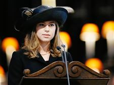 Thatcher-Funeral-granddaughter