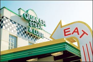 Pennsylvania-based Quaker Steak & Lube is scouting potential locations in Toledo. The automotive-themed restaurant features chicken wings and barbecue ribs in a family-friendly environment.