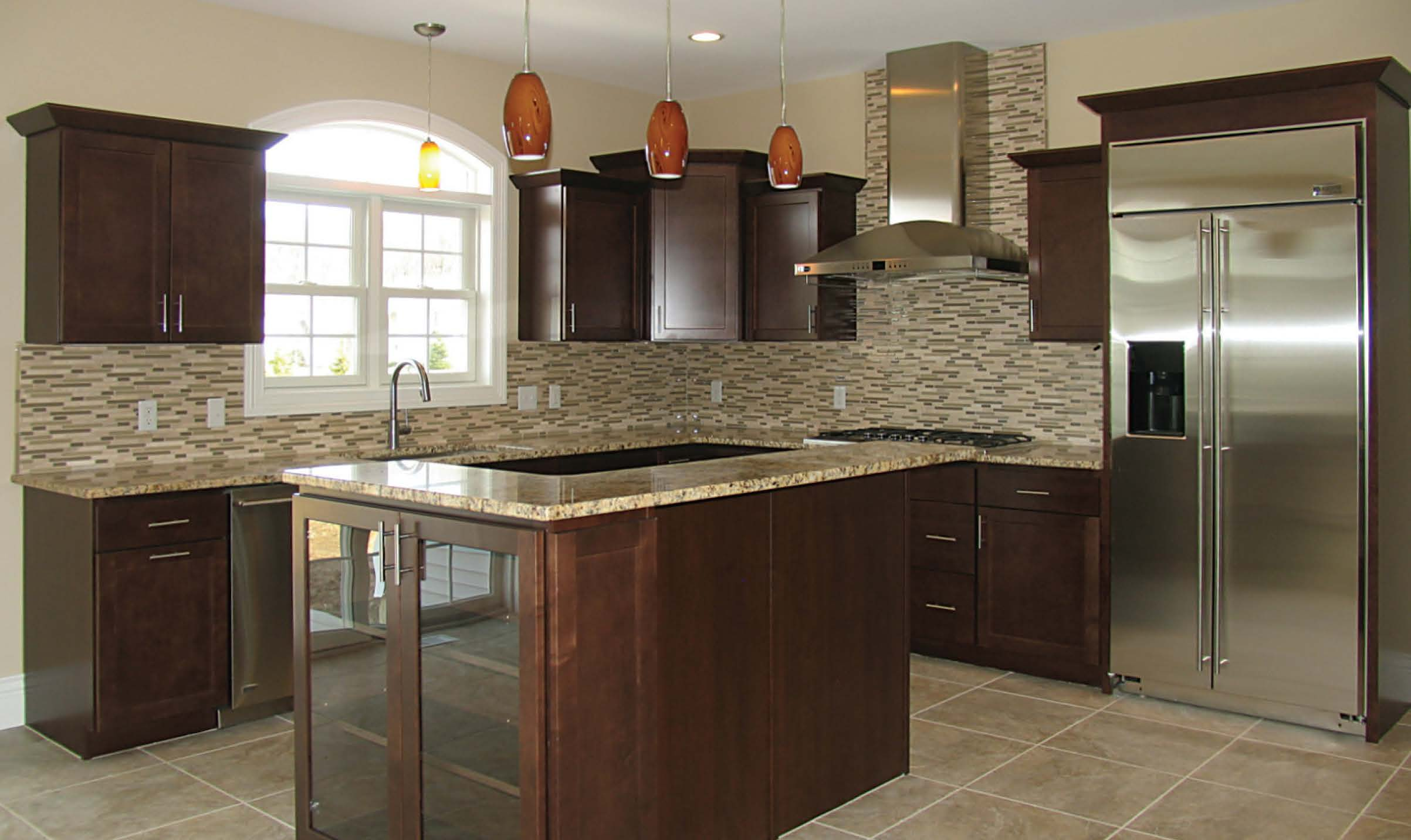 Maple crown molding kitchen cabinets - The
