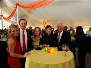 From left, Laurie Long, Ed Reinstein, Sandy Sloan, Marilyn Reinstein, and Gary Reinstein.
