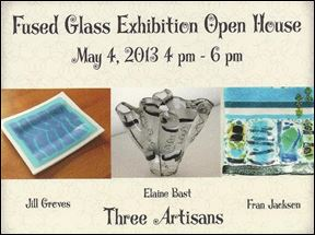 Fused Glass Exhibition Open House