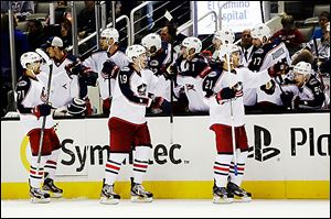 The Columbus Blue Jackets were 5-12-2 on Feb. 24, worst in the NHL. Since then, they've gone 17-5-5 and made an unlikely run for a Stanley Cup playoff berth in the Western Conference.
