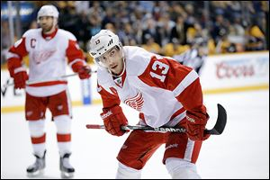 Pavel Datsyuk and the Red Wings have little margin for error this week in chasing a playoff berth.
