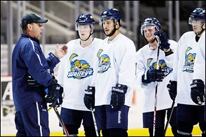 Nick Vitucci is now 133-127-28 in the regular season as the Walleye's coach.