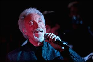 At 72, singer Tom Jones' voice sounds just as powerful as it did when he was in his 20s.