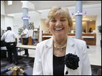 Grace Chojnowski-Kellogg, the owner of the 210-room hotel in South Toledo, and her husband have obtained approval from the court-appointed receiver to stay in a room in the building, said her attorney, Marvin Robon.