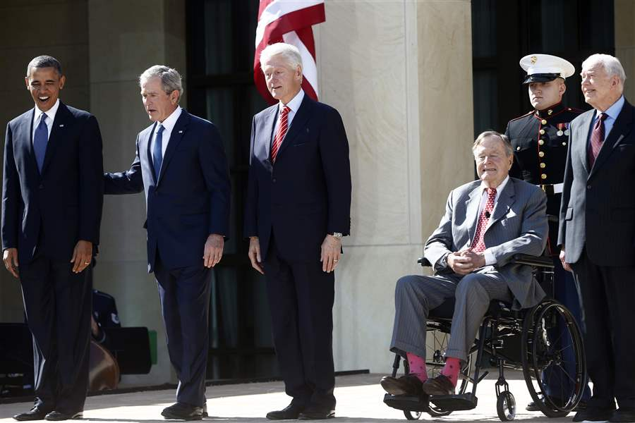 Obama-Bush-Clinton-Bush-Carter