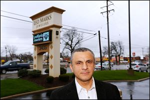 Mike Taweel, store manager at Leo Marks Jewelers, says business at his store is down by at least 20 percent.