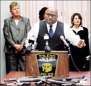 'Most of our problems are gangs, guns, and drugs,' Toledo Police Chief Derrick Diggs says. 'It's all related. … Are gangs more violent today than they were back in the late '80s around here? Absolutely.'
