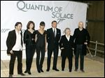 Actors, from left, Mathieu Amalric, Gemma Arterton, Olga Kurylenko, Daniel Craig, Judy Dench, and director Marc Forster pose at a photo call for the Bond film 'Quantum of Solace' at Pinewood Studios in Buckinghamshire, England. Georgia''s film industry is booming and big plans are in the works for major studio projects. Of those studio projects in the works, one being planned in Fayette County, a short drive south of Atlanta, could be a game changer. British film studio Pinewood Shepperton PLC, home to the James Bond franchise, has reportedly been in talks with a group of investors to manage and operate the facility. It would be Pinewood's first production facility in the United States.