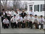 The 2013 Great Black Swamp Frogs vintage baseball team.