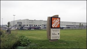 Home Depot Regional Distribution Center in Van Buren.